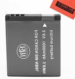 BM Premium NB-8L Battery For Canon PowerShot A2200 IS, A3000