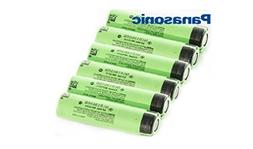 NCR18650B 3.7V 3400mAh Rechargeable Li-ion Batteries for Pa