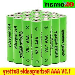 ⟦NEW⟧🔥 4-20PCS 1.5V AA New Alkaline rechargeable batt