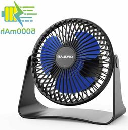 New 5000mAh Portable Battery Operated Desk Personal Cooling