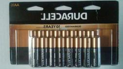 NEW Duracell AA Coppertop Alkaline Batteries Set of 16 FREE