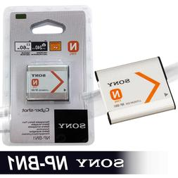 New Sony NP-BN1 Lithium-Ion N Type Rechargeable Battery 600m
