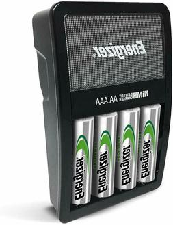 NEW! Energizer Rechargeable AA and AAA Battery Charger