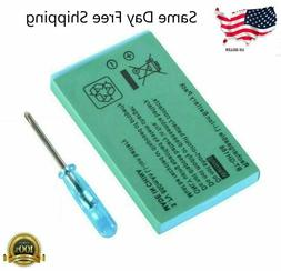 New Rechargeable Battery for Nintendo Game Boy Advance SP Sy
