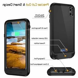 Waterproof Rechargeable Battery Case Charger Back Cover For