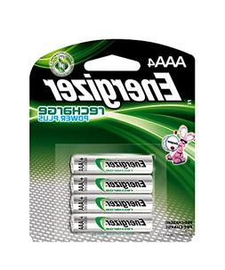 Energizer NH12BP-4 AAA Rechargable NiMH Battery Pack of 4