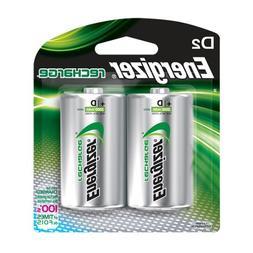 Energizer NH50BP-2 2 Pk, D Rechargeable Battery