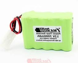 Ni-MH Nickel Metal-Hydride Rechargeable Battery 12V 2000mAh