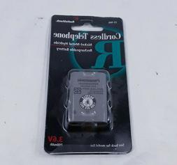 RadioShack Nickel-Metal Hydride Telephone Rechargeable Batte
