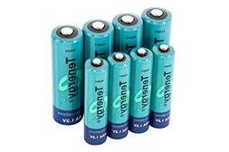 Tenergy High capacity NiMH Rechargeable battery package: 4 A