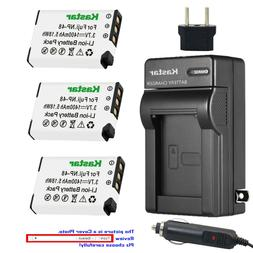 Kastar NP-48 Lithium Rechargeable Battery AC Travel Charger