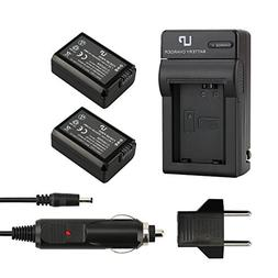 LP NP-FW50 Battery  and Charger,Compatible with Sony Alpha A