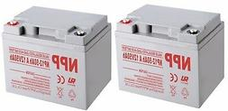 NP12-50Ah A 12V 50Ah Rechargeable SLA Battery For Electronic