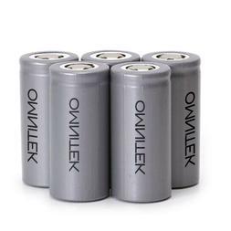 OmniTEK LiFePo4 32650 Lithium 3.2v 6000mAh  Li-ion Rechargea