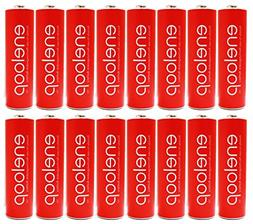 Eneloop Panasonic AA NiMH Pre-Charged Rechargeable Batteries
