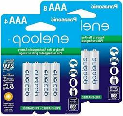 Panasonic Eneloop 2100 cycle AAA NiMH 800mAh Battery 12 Pack
