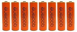 Eneloop Panasonic 4th Generation 8 Pack AA NiMH Pre-Charged