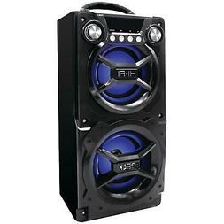 POrtable BLACK Bluetooth Speaker Internal Battery Speakerpho