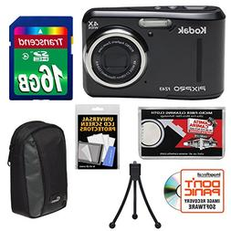 KODAK PIXPRO Friendly Zoom FZ43 Digital Camera  with 16GB Ca