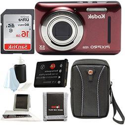 Kodak PIXPRO Friendly Zoom FZ53  with Sandisk16GB SD Cards,