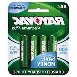 RAYOVAC PL715-4A; RCHRGBL NiMH AA 4/PK