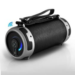 Portable Bluetooth Wireless BoomBox Stereo System, Built-in