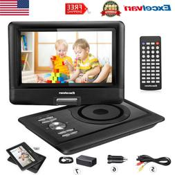 "Portable Car DVD Players Speaker 270° 10.5"" TFT LED 5000mAh"