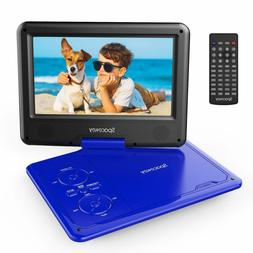 "Portable DVD Player 11.5"" with 5 Hours Rechargeable Battery"
