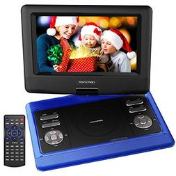 DBPOWER 10.5 Inch Portable DVD Player with Rechargeable Batt