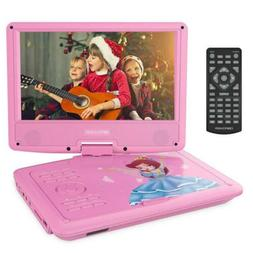 "DBPOWER 9"" Portable DVD Player with Rechargeable Battery, Sw"