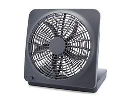 O2COOL 10-Inch Portable Desktop Air Circulation Battery Fan