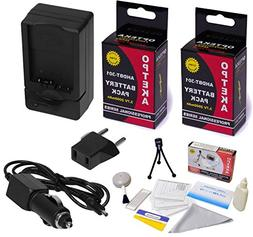 Opteka High Capacity  Power Battery  + Fast Charger for GoPr