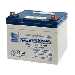 Power-Sonic 12V 33AH SLA Replacement Battery for Clore Autom