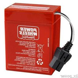 Power Wheels Red Battery Super 6 Volt  00801-0712 Fisher Pri