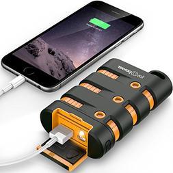 FosPower PowerActive 10200 mAh Power Bank - 2.1A USB Output