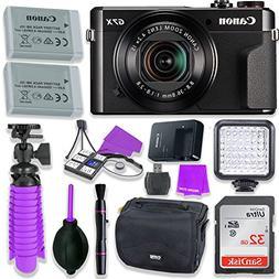 Canon PowerShot G7 X Mark II Camera w/ 1 Inch Sensor & tilt