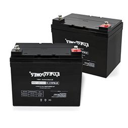 ExpertPower Q02BLMFM12_33 AGM  12v Rechargeable Deep Cycle B