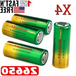 Quality Rechargeable 26650 Battery 3.7V Li-ion Battery For F