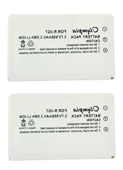 2x Pack R-IG7 Battery for Logitech 720, 850, 880, 885, 890 P