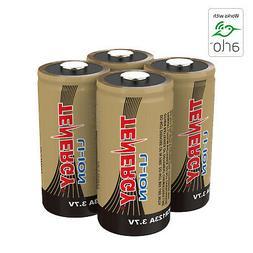 Tenergy 3.7V 650mAh RCR123A Li-ion Rechargeable Battery