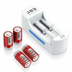 EBL RCR123A Rechargeable Batteries Arlo Batteries Li-ion 3.7