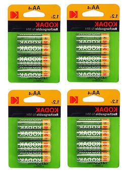 Kodak Ready to Use AA 2100mAh Rechargeable Batteries 4 Pack
