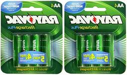 Rayovac Recharge Plus AA 2400mAh NiMH Rechargeable Batteries