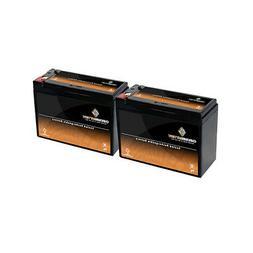 2 Pack Bundle 12v 10ah Battery for Schwinn S500 FS, S-500 FS