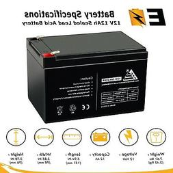 ExpertBattery Replacement For UB12120 12v 12Ah 12 volt 12 Am