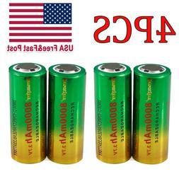 Rechargeable 8000mAh 26650 Battery 3.7V Li-ion Battery For F