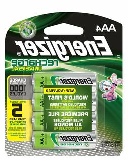 Energizer Rechargeable AA Batteries NiMH 2000 mAh Pre-Charge
