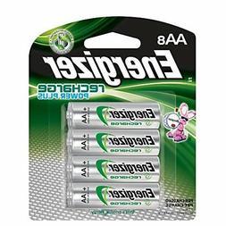 Energizer Rechargeable AA Batteries, NiMH, 2300 mAh, Pre-Cha