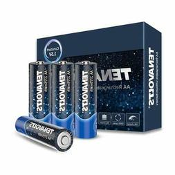 Rechargeable AA Battery Charger with 4 Lithium ion 2775 mWh