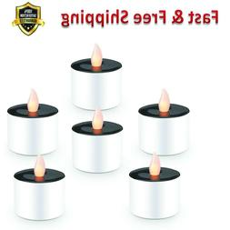 Rechargeable Candles LED Tea Lights Solar Candles Flameless